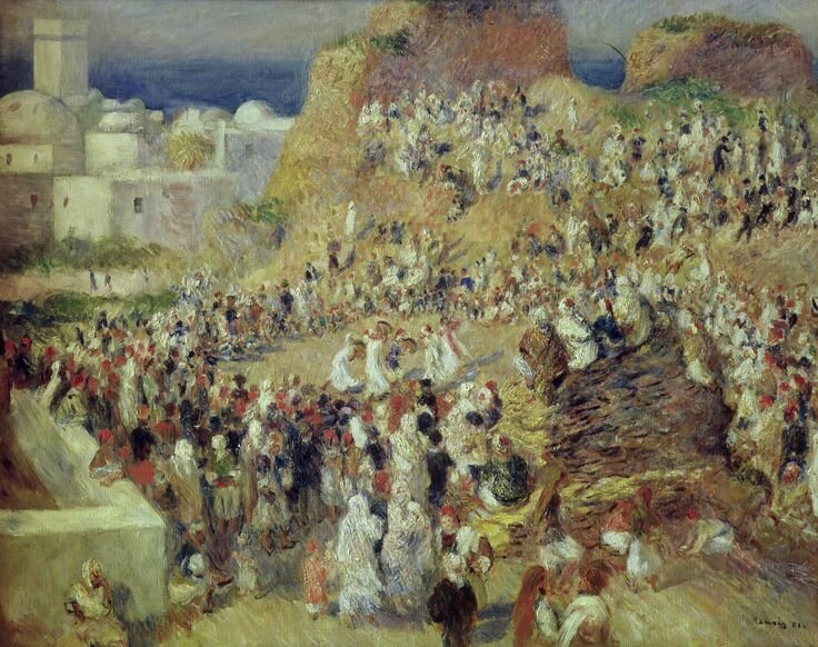The Mosque, or Arab Festival