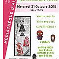 Atelier création recyclage artistique à la médiathèque d'alban: mercredi 31 octobre