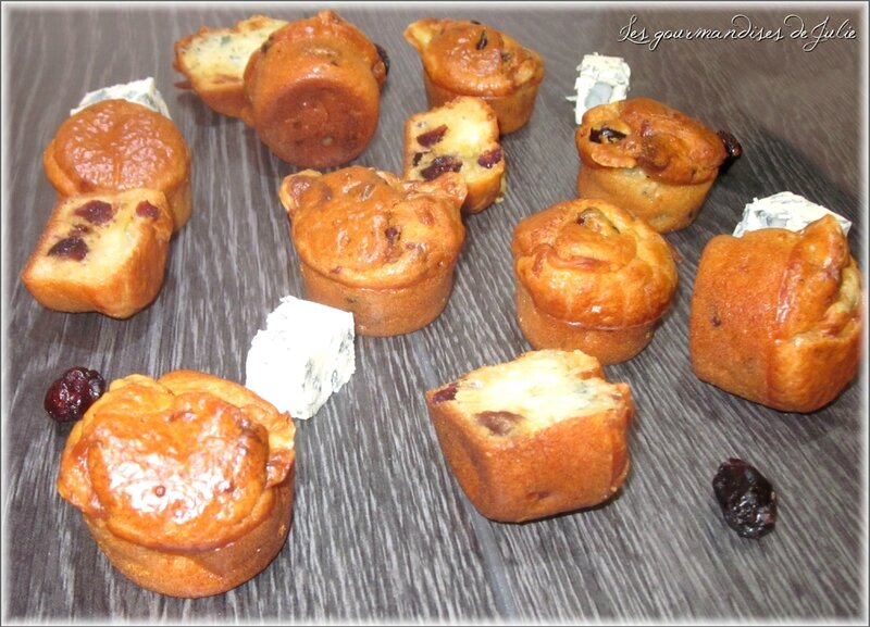 muffins fourme cranberries