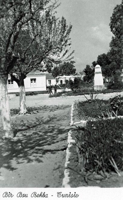 Le jardin - Camp général Brosset