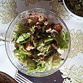 Salade en totale impro!!