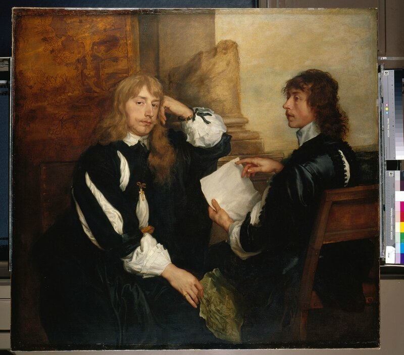 Anthony van Dyck, 'Thomas Killigrew and William, Lord Crofts ()', 1638