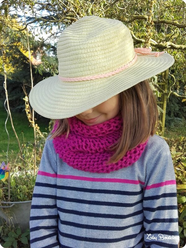 snood facile tricotin geant easy loom knitting lilybouticlou