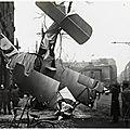 1919-05-28 - Avion Français chute Paris rue Alesia 155 - avril 1917 - b