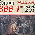 629e anniversaire de la dédition de nice à la savoie.