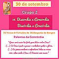 Mensagem do dia 30 de setembro: grupo 2 - vícios e virtudes