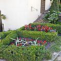 Jury village fleuri