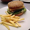 Cuisine végétarienne et burger