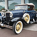 Ford model a deluxe roadster 1930