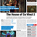 Test de the house of da vinci 2 - jeu video giga france