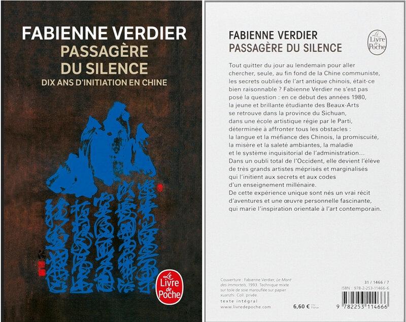 F Verdier, Passagère du silence