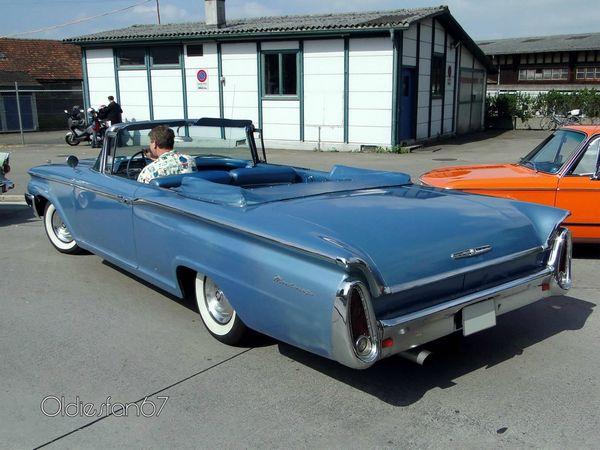 mercury monterey convertible 1960 b