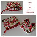 pochette fruit pois rouge 2