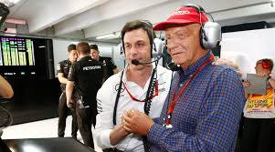 NIKI LAUDA AND TOTO