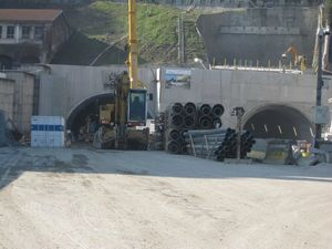 futur tunnel de la X Rousse