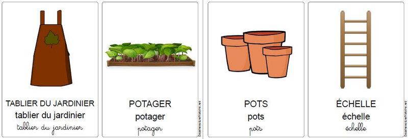 vocabulaire du jardin 4