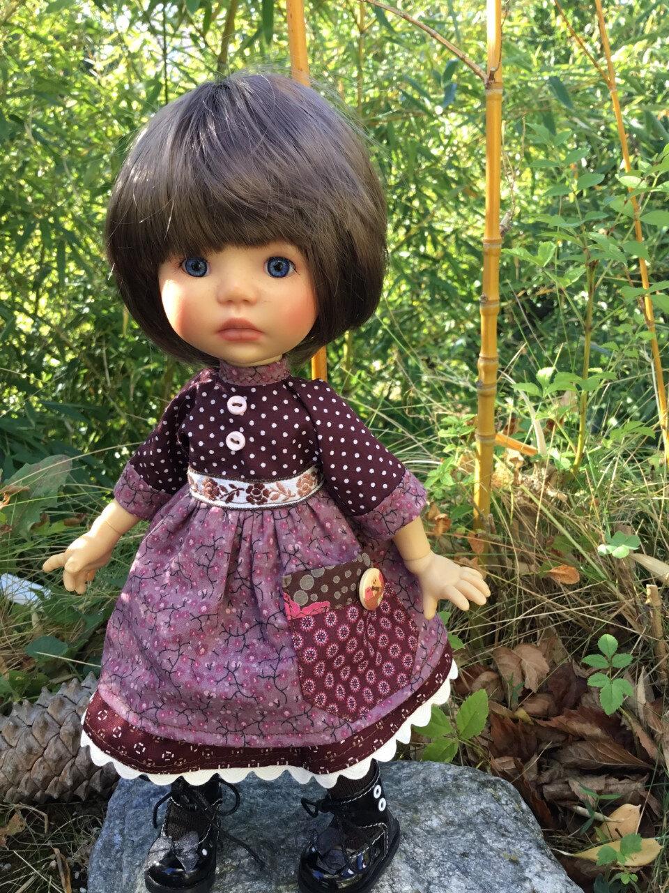 Robe d'automne ( Lou) pour Meadow, 16 € et 2,50 fdp,plus disponible