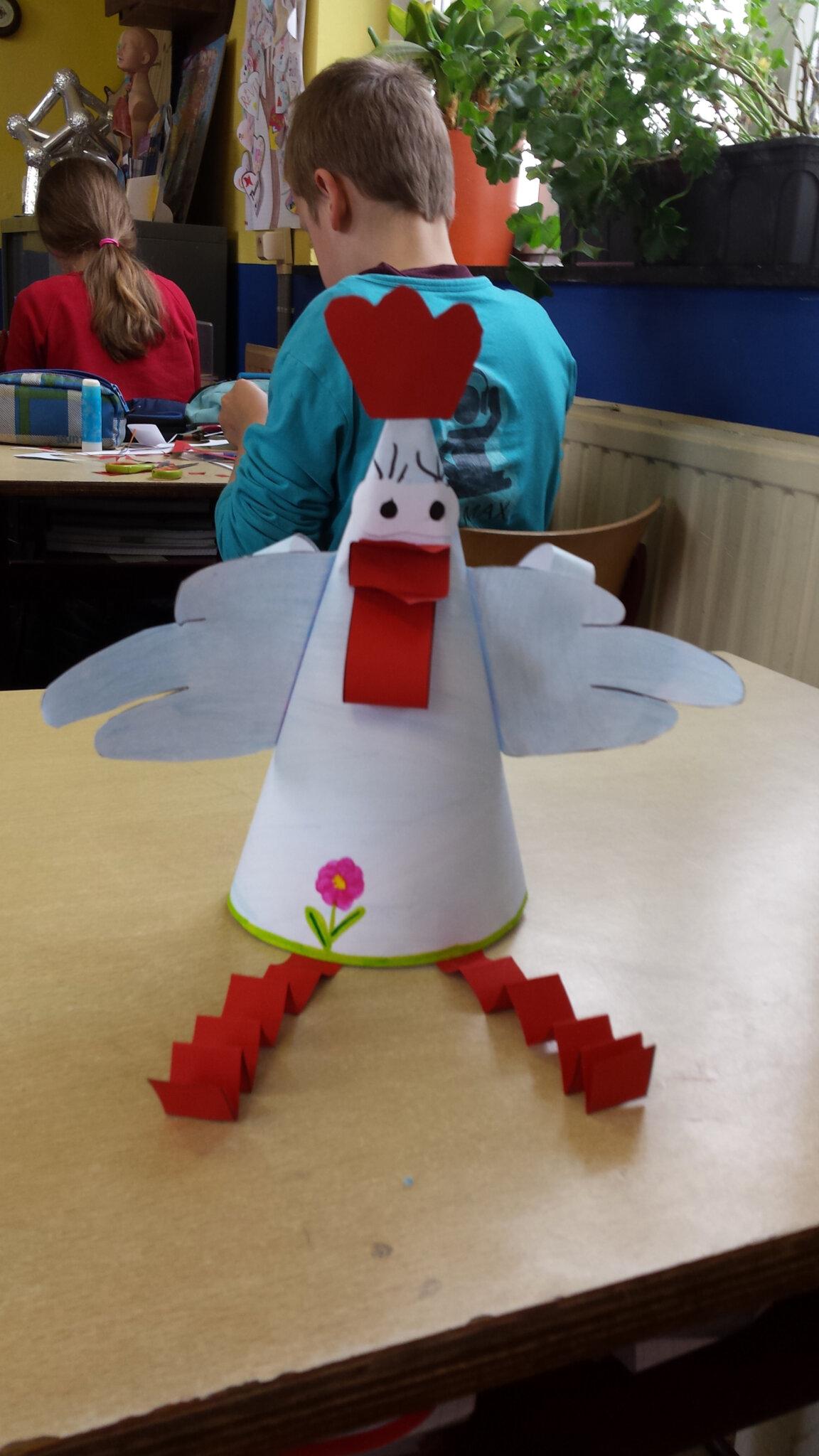 notre poule de pâques (p5-6) - ecole maternelle et primaire de