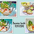 Recette facile tzatziki léger