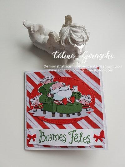 Carte pochette Atelier Père Noël -1