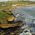 Le Loch Primelin et Plogoff vue du ciel - 07