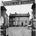 Cartes postales gendarmerie