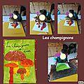 Coloriage champignons