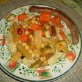 Couscous aux fruits