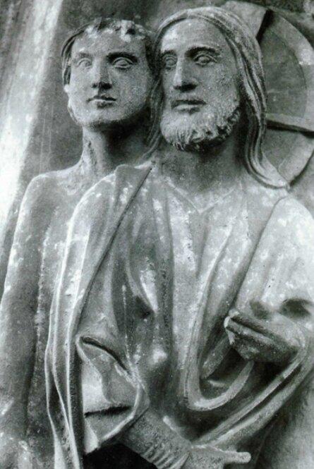 Christ et Adam