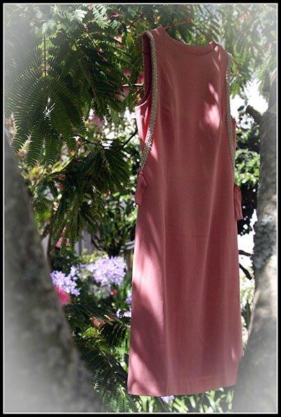 718 robe vintage
