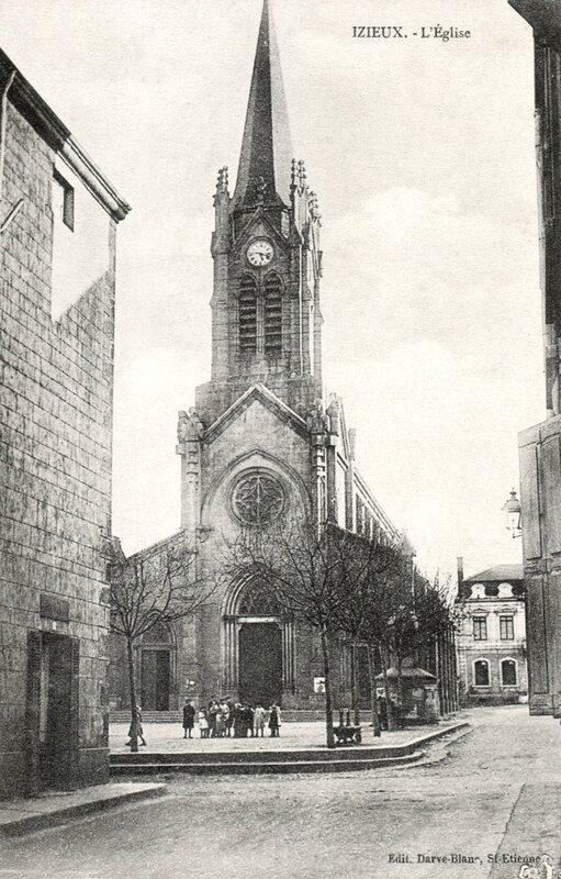 Izieux, l'église