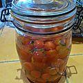 Lactofermentation tomates