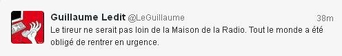 tweet Guillaume Ledit