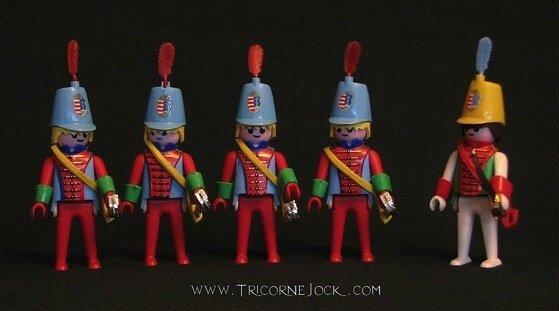Playmobil Schenk Soldats hongrois