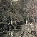 01 Boissy-l'Aillerie - les bords de la Viosne datée 1920