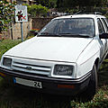 Ford sierra break 1.6 l (1982-1987)