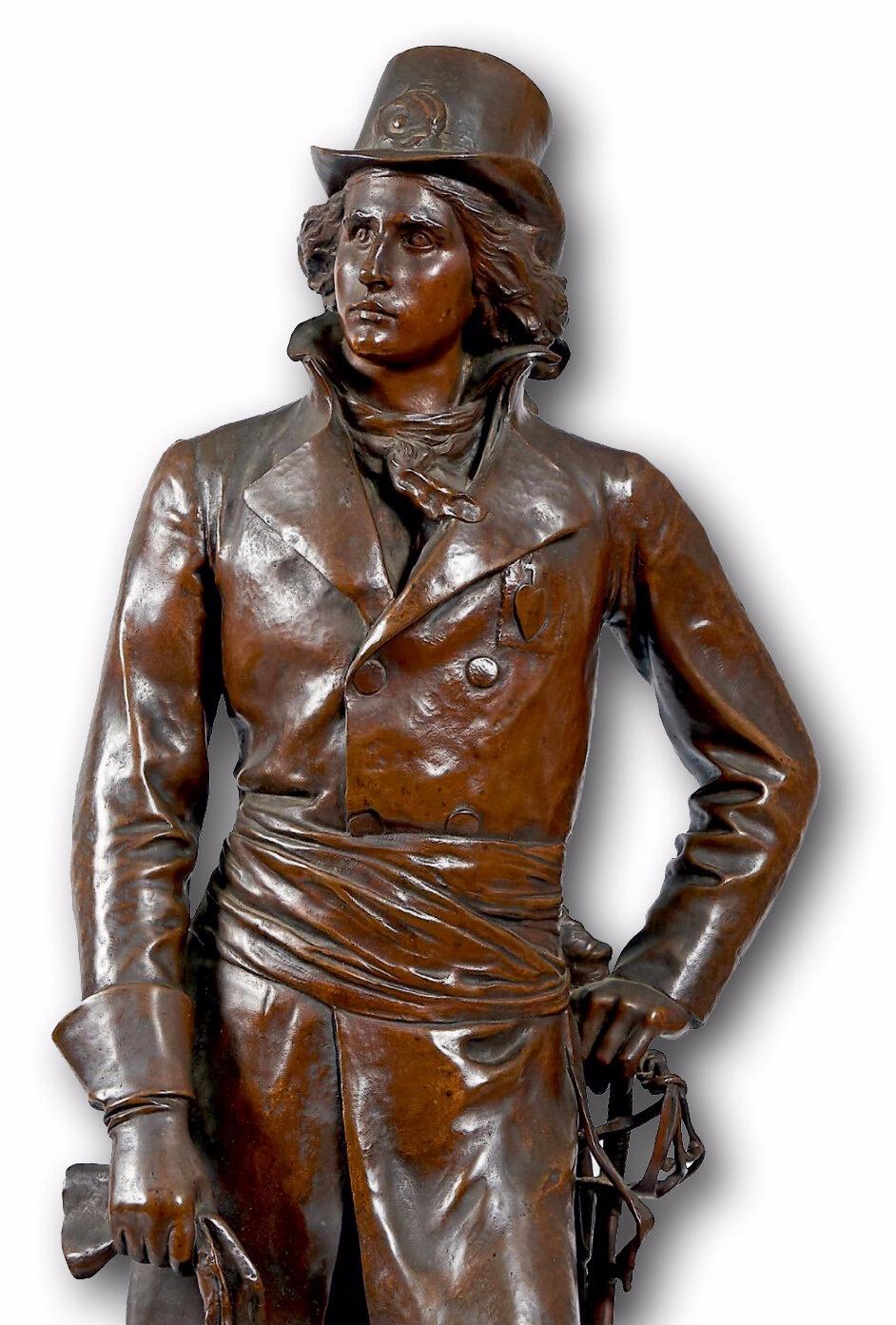 Un bronze d'Henri de La Rochejaquelein