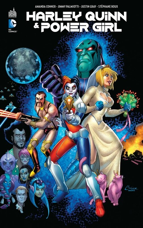 harley quinn & power girl