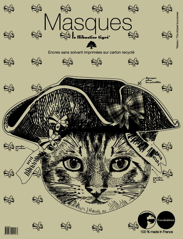 cocobohème pack chat bicorne