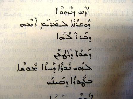 Bible arabe - les psaumes