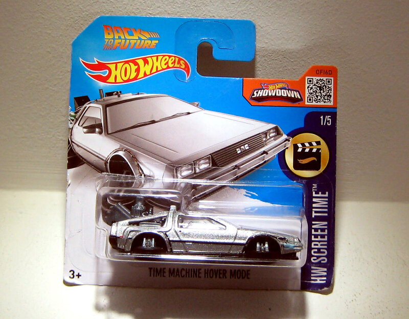 DMC Delorean Time machine hover mode (Hotwheels 2016)