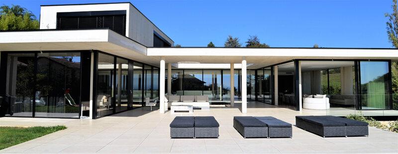 Villa contemporaine architecte aix en provence cote d'azur