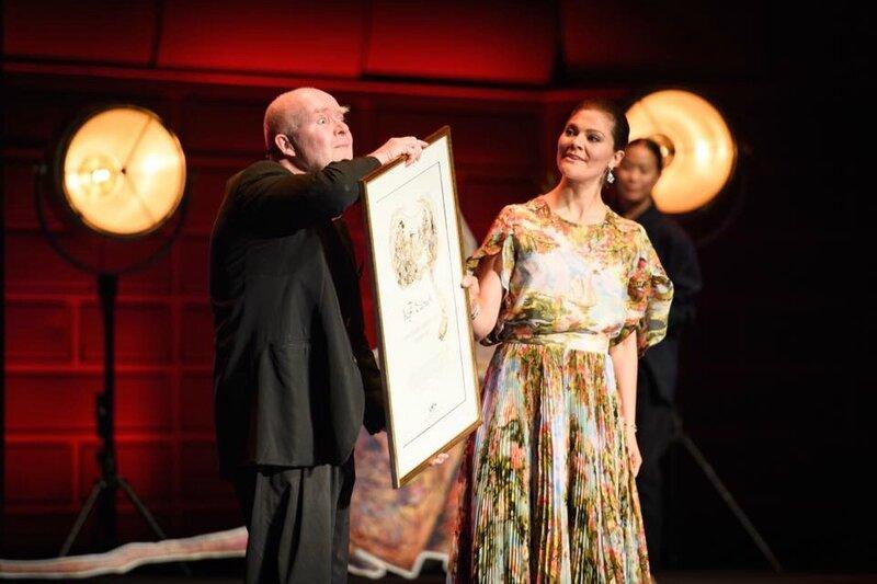 Le prix Astrid Lindgren remis à Wolf Erlbruch