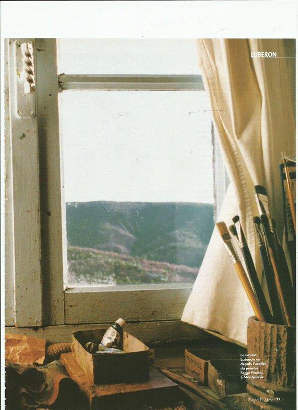 Fenêtre de l'atelier Serge