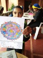 Ayoub fier de son dessin
