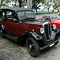 Morris eight series i 2door saloon, 1935 à 1937
