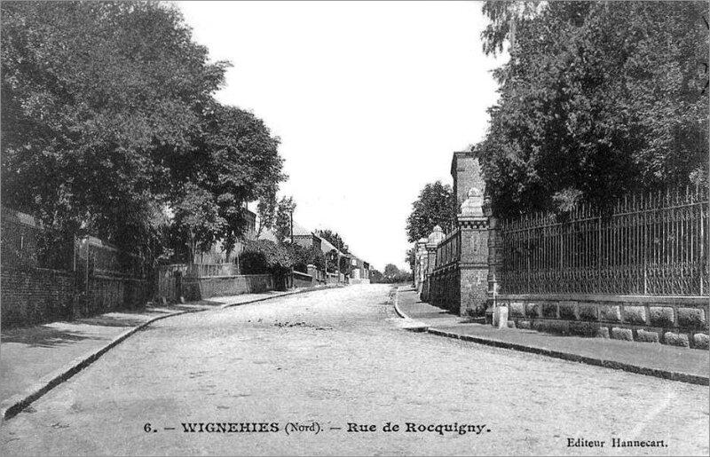 WIGNEHIES-Rue de Roquignies