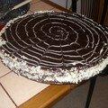 Millefeuille au chocolat de loky