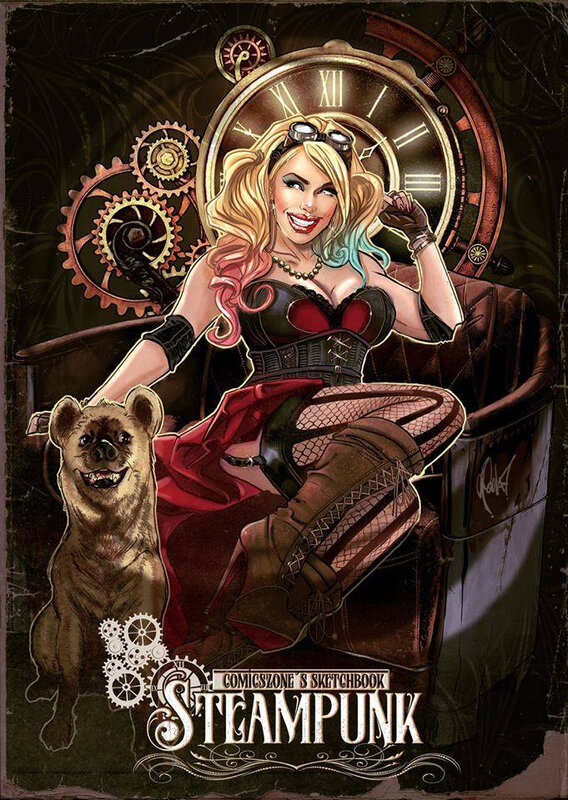 fcbd 18 comics zone steampunk artbook
