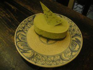 Chén Chè Cheese cake matcha J&W
